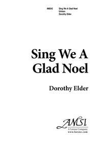Sing We a Glad Noel