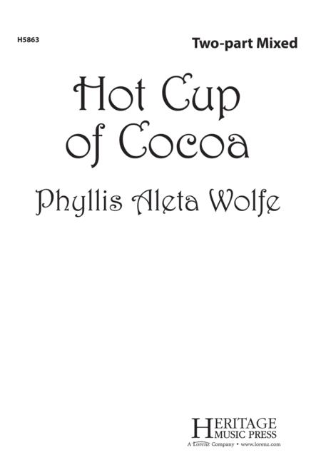 Preview Hot Cup Of Cocoa By Phyllis Wolfe White Lxh5863