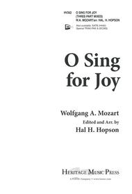 O Sing for Joy