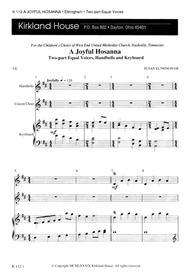 A Joyful Hosanna