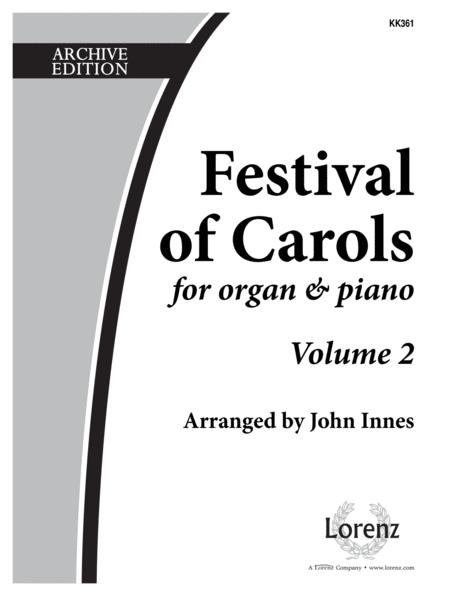Festival Of Carols For Organ and Piano Vol 2