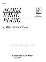 Noona Basic Piano Book 3