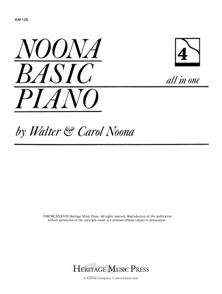 Noona Basic Piano Book 4