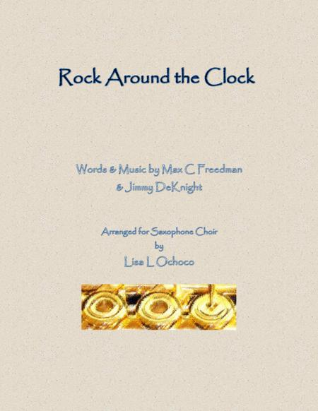 Rock Around The Clock for Saxophone Choir