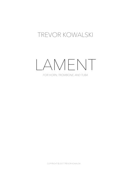 Lament (brass trio)