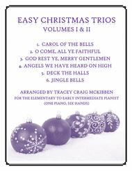 Easy Christmas Trios, Volumes I & II (1 Piano, 6 Hands)