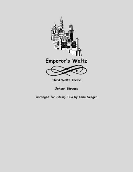 Emperor's Waltz, Third Waltz Theme (string trio)