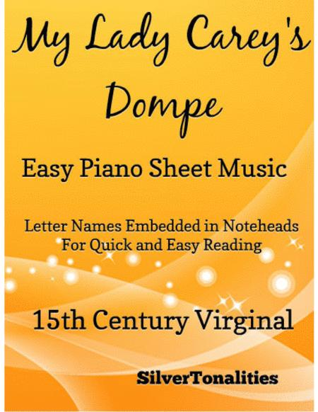 My Lady Carey's Dompe Easy Piano Sheet Music