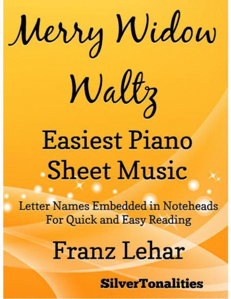 Merry Widow Waltz Easiest Piano Sheet Music