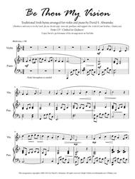 Be Thou My Vision (arr. for violin and piano)
