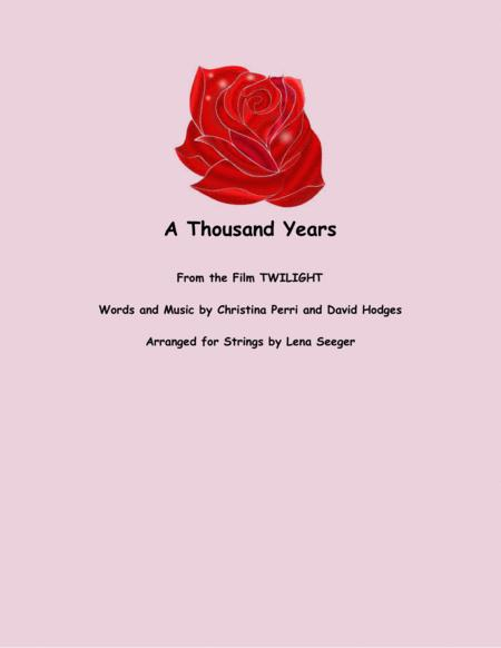 A Thousand Years (string duo)