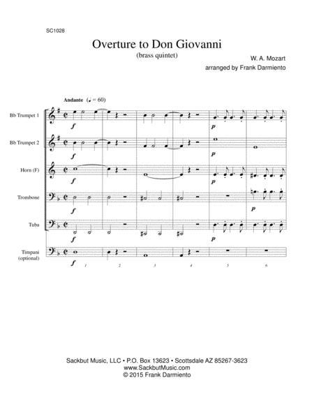 Don Giovanni - overture