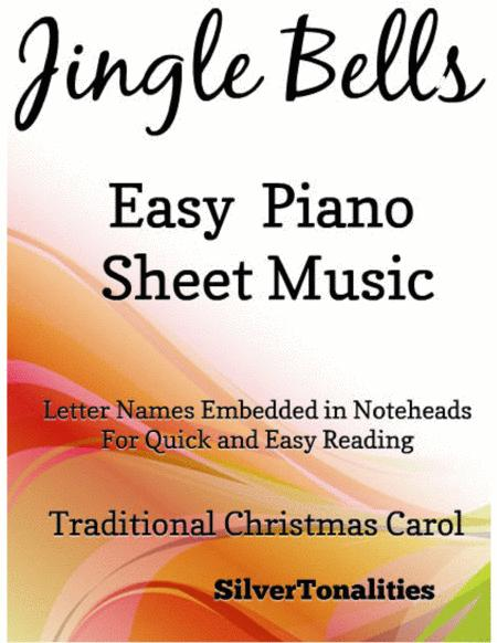 Jingle Bells Easy Piano Sheet Music with an Alberti Bass