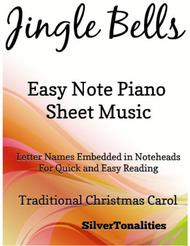Jingle Bells Easy Piano Sheet Music