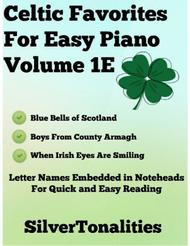 Celtic Favorites for Easy Piano Volume 1E Sheet Music