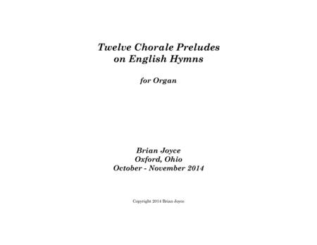 Twelve Chorale Preludes on English Hymns
