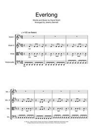 Everlong (String Quartet)