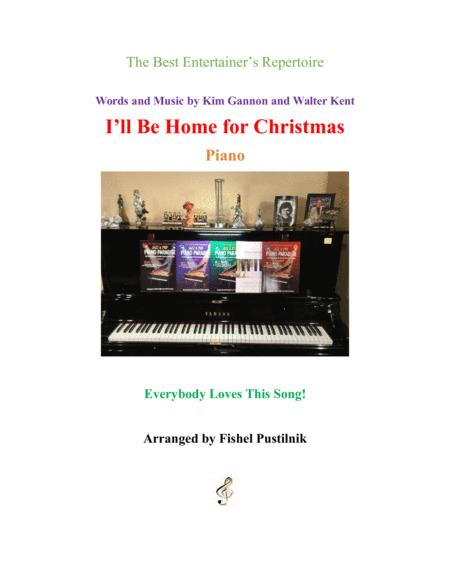 Bing Crosby Ill Be Home For Christmas.Download I Ll Be Home For Christmas For Piano Sheet Music