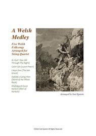 Welsh Medley: Five Traditional Celtic folk songs arranged for string quartet