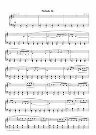 Prelude #16, Op. 1, No. 16