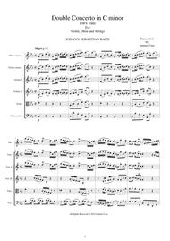 Bach - Double Concerto in C minor BWV1060R for Oboe, Violin and Strings
