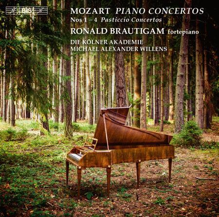 Mozart: Piano Concertos Nos. 1-4