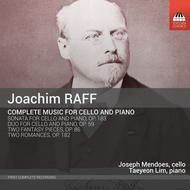 Joachim Raff: Complete Music for Cello & Piano