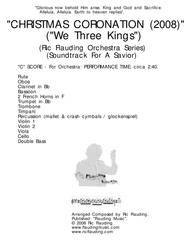 We Three Kings (Christmas Coronation) (Orchestra)