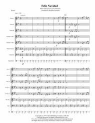 Feliz Navidad for Mariachi Ensemble