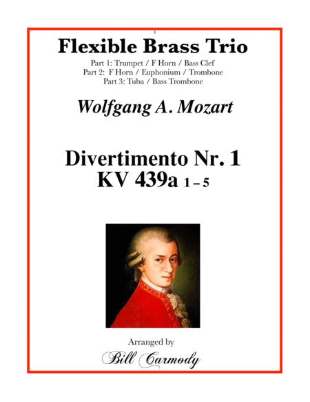 Mozart Divertimento Nr. 1 (K. 439a) Flexible Brass Tro