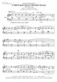 < Short EZ Piano #61 > A Nightingale Sang In Berkeley Square