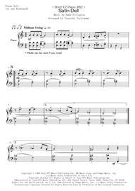 < Short EZ Piano #62 > Satin Doll