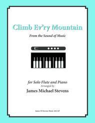 Climb Ev'ry Mountain - Solo Flute & Piano