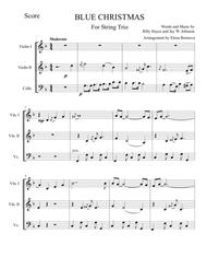Blue Christmas String Trio