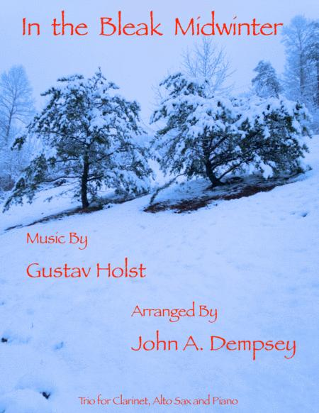 In the Bleak Midwinter (Trio for Clarinet, Alto Sax and Piano)