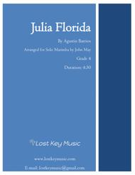 Julia Florida-Marimba Solo