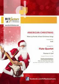 American Christmas - Mash up Rondo of best Christmas Songs - Flute Quartet