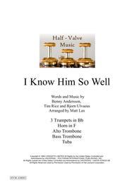 I Know Him So Well (Brass Septet)