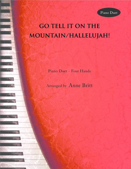 Go Tell It on the Mountain/Hallelujah! (piano duet)