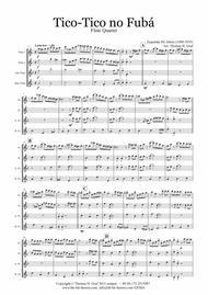 Tico-Tico no Fubá - Choro - Flute Quartet
