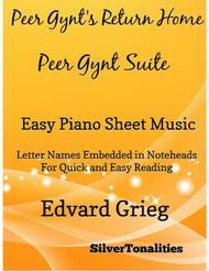 Peer Gynt's Return Home Peer Gynt Suite Easy Piano Sheet Music