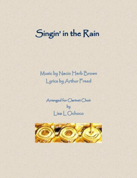 Singin' In The Rain for Clarinet Choir