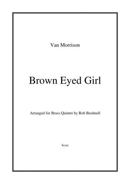 Brown Eyed Girl (Van Morrison) - Brass Quintet