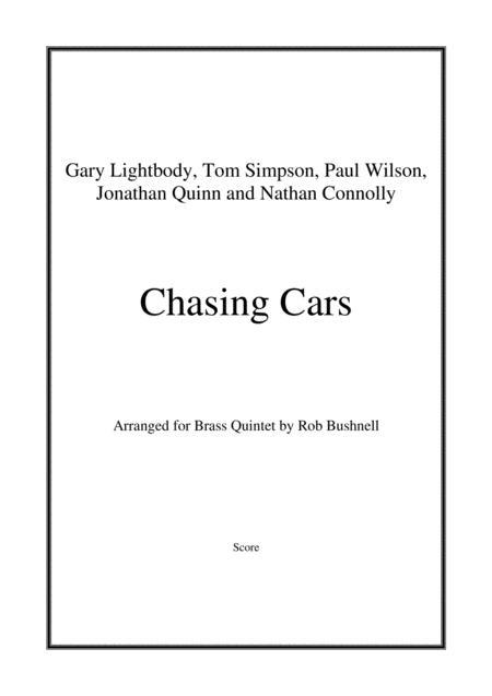 Chasing Cars (Snow Patrol) - Brass Quintet