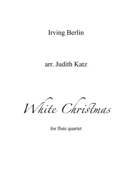 White Christmas - for flute quartet