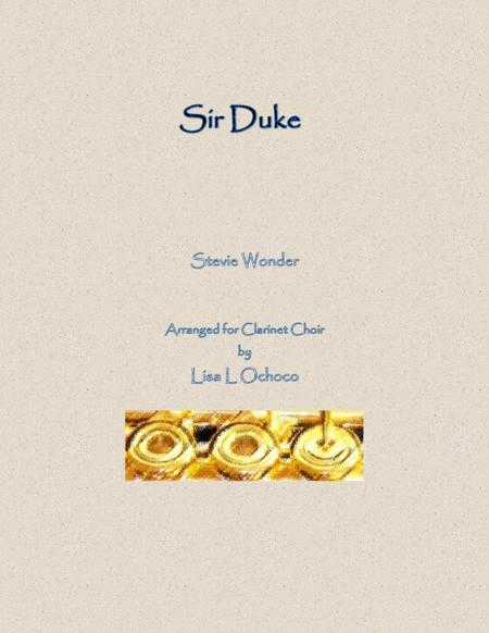 Sir Duke for Clarinet Choir