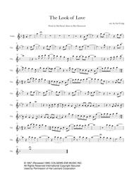 The Look Of Love - Solo Violin