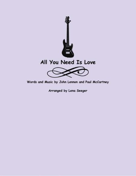 All You Need Is Love (two violins and cello)