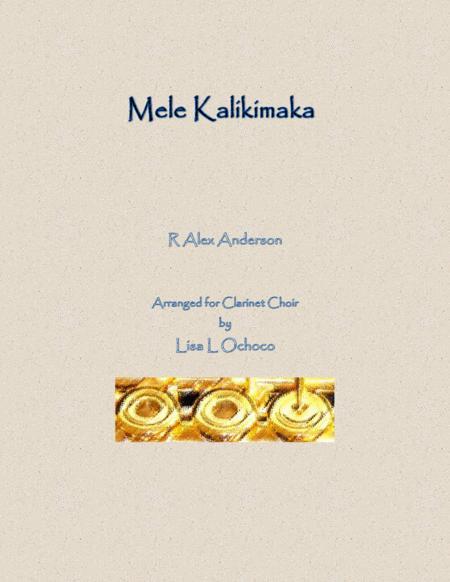 Mele Kalikimaka for Clarinet Choir