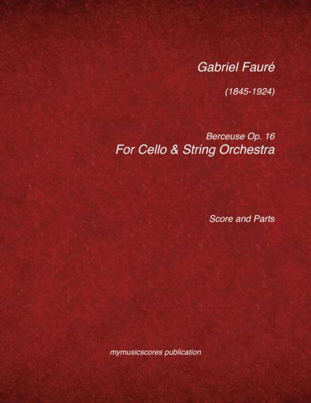 Berceuse Op.16 for Viola and String Orchestra